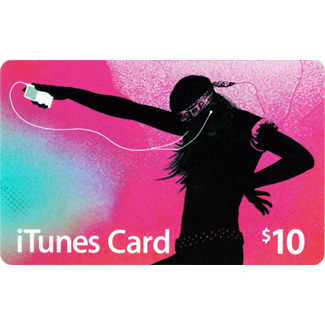 iTUNES GIFT CARD - 10$ - (USA/SCAN)