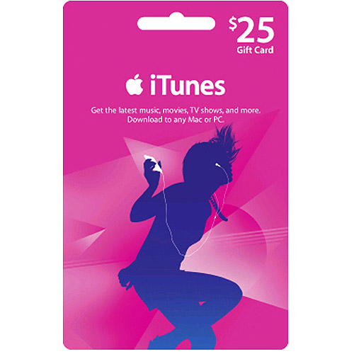 iTunes Gift Card(US) $25 Scans+Discount