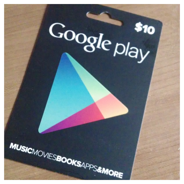 Google Play Gift Card - US$ 10