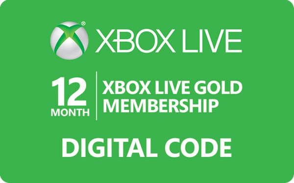 Xbox live Gold 12 Months Worldwide Xbox live Gold 12