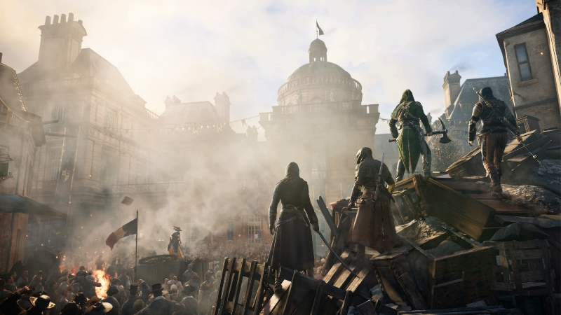 Assassin's Creed Unity Gold +2DLC +БРАТСТВО +SeasonPass