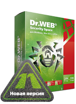 Антивирус DrWeb Security Space Pro 1 ПК 1 год