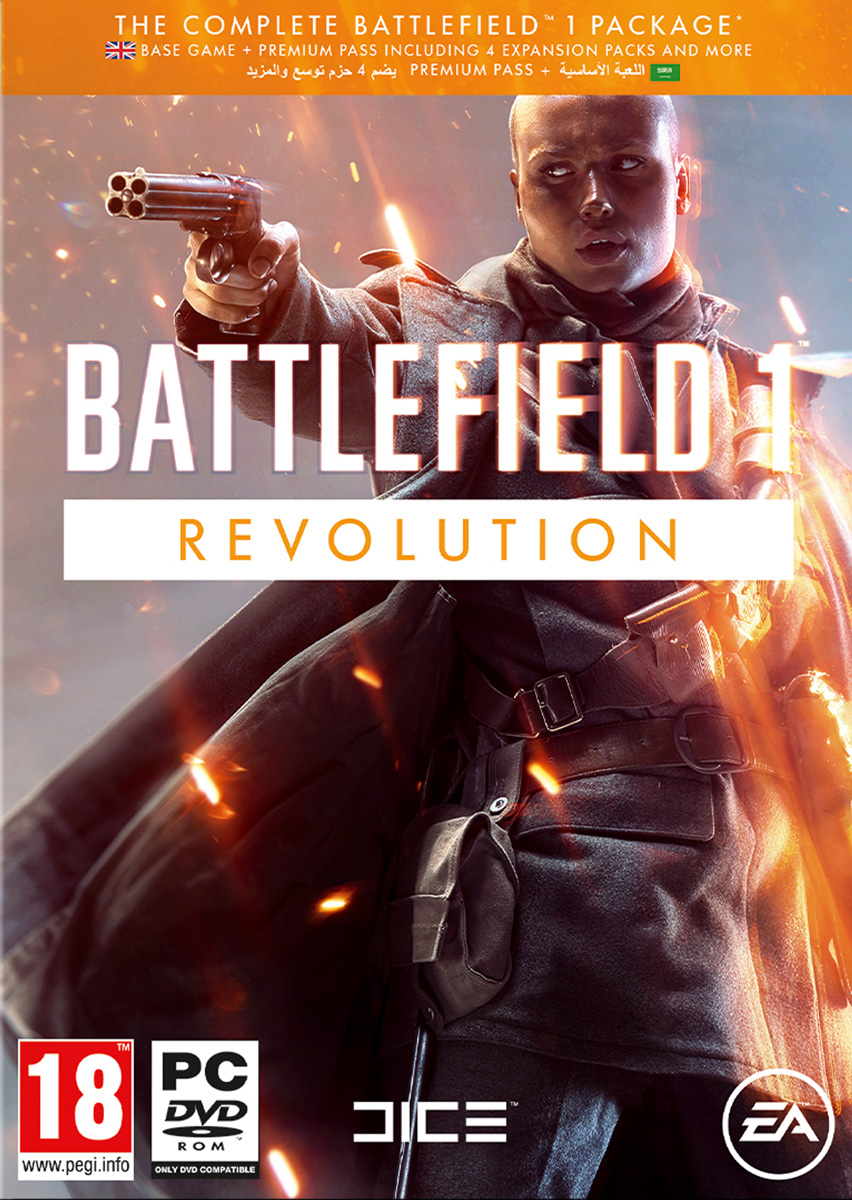Battlefield 1 Revolution - Origin - Region Free