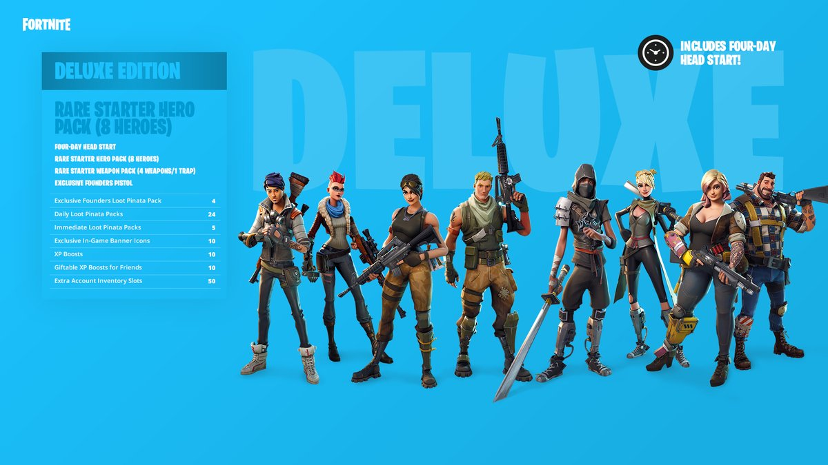 Fortnite DELUXE EDITION GUARANTEE EPICGAMES