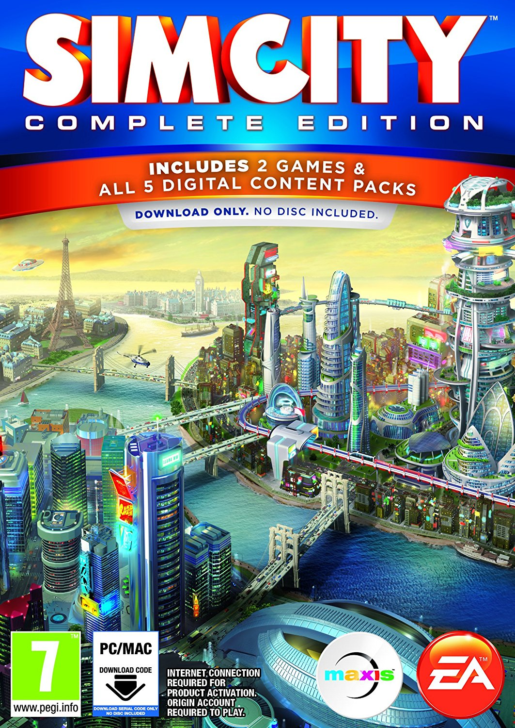 Simcity hits retail and digital download geeky gadgets.