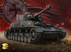 Купить Бонус-код - танк Pz.Kpfw. IV hydrostat. + слот