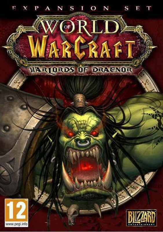 World of Warcraft: Warlords of Draenor EU (SCAN)
