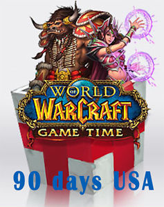 WOW - Time Card 90 days (USA) - CDKEY + СКИДКИ