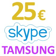 Skype OUT Ваучер 25 EUR