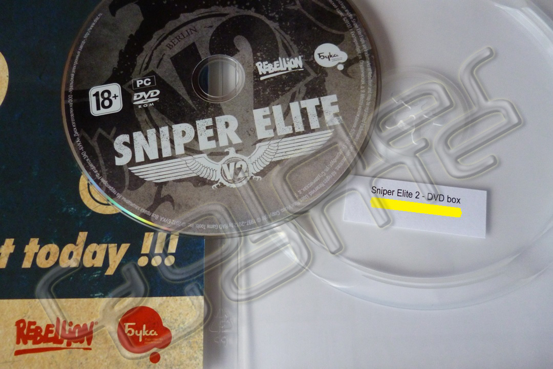 Sniper Elite V2 (Photo CD-Key) STEAM