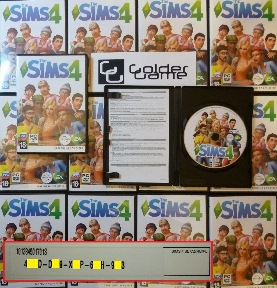 The Sims 4 - Standard Edition - Origin (Photo) CZ/PL/RU