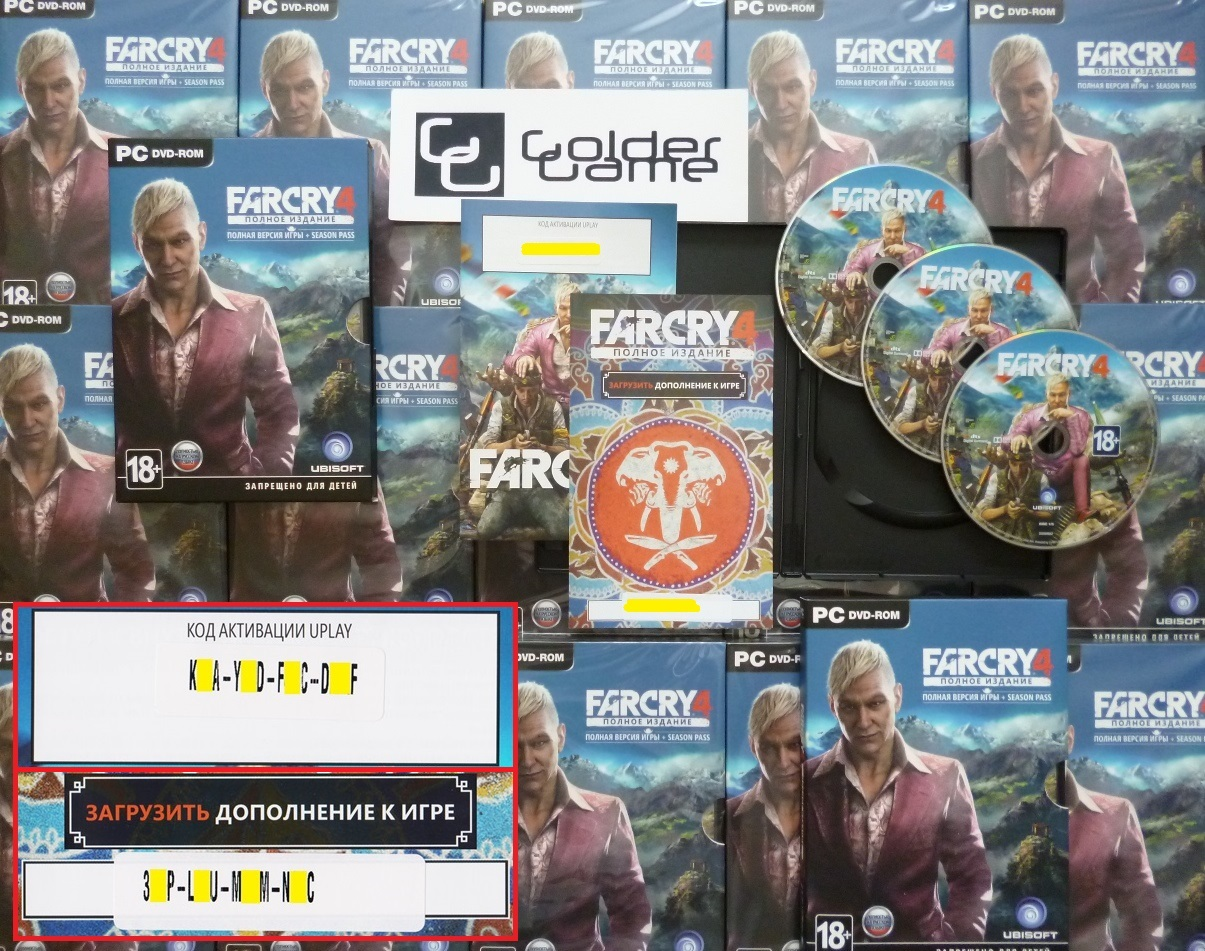 Far Cry 4 - Full Edition + Season Pass (Uplay CD-Key)