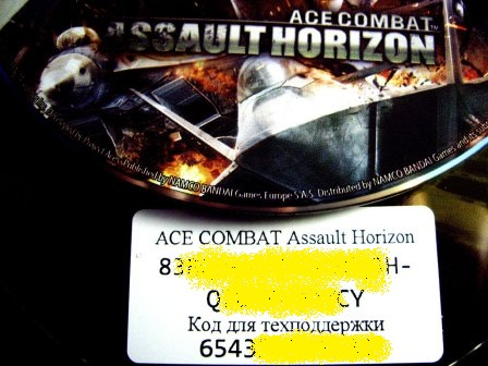 Ace Combat Assault Horizon (Photo CDKey) RegFree GFWL