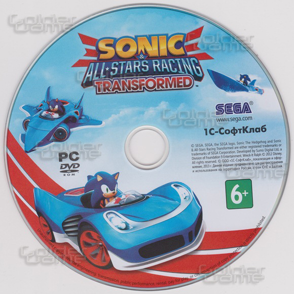 Sonic and All-Stars Racing Transformed (CD Key) Steam