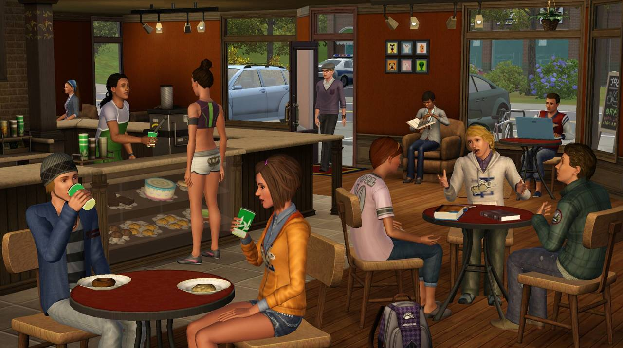 The Sims 3: Student Life (University life) Additional
