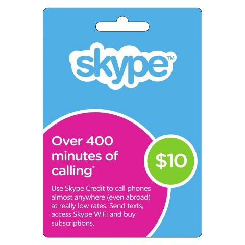 Skype $10 USD Original Codes - Voucher Redeem