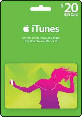 $20 USD iTunes Gift Card -US- Original Redeem -Discount