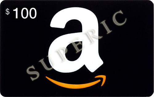 AMAZON 100 usd gift card