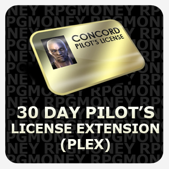 EVE-ONLINE 30 DAY PLEX. Clock (CAN FOR SMS).