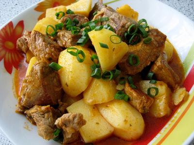 Блюда из картофеля.