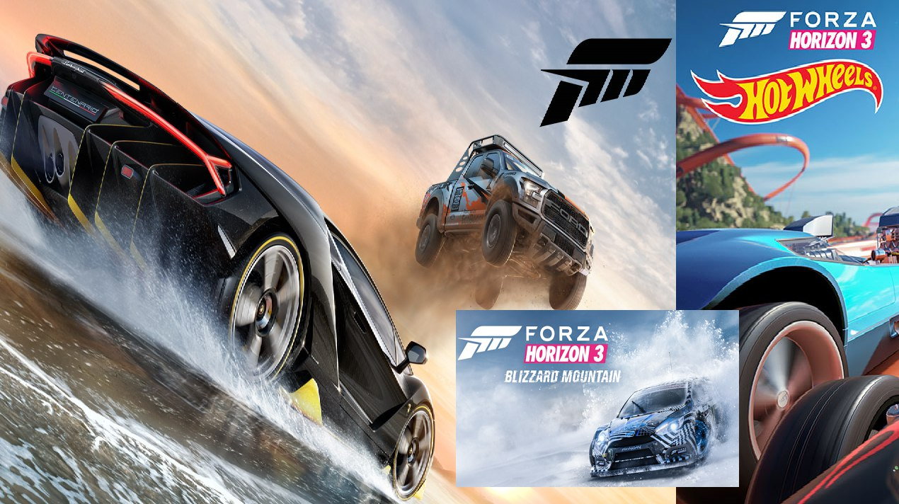 Forza Horizon 3 + All DLC + Network (PC) (Region Free)