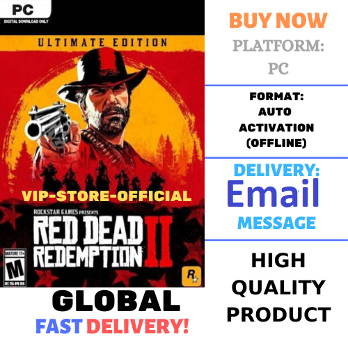 Red Dead Redemption 2 Ultimate + Licensed Account🔴