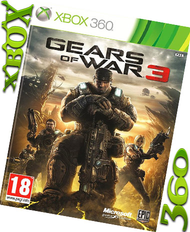 GEARS OF WAR 3(XBOX 360)(XBOX ONE)