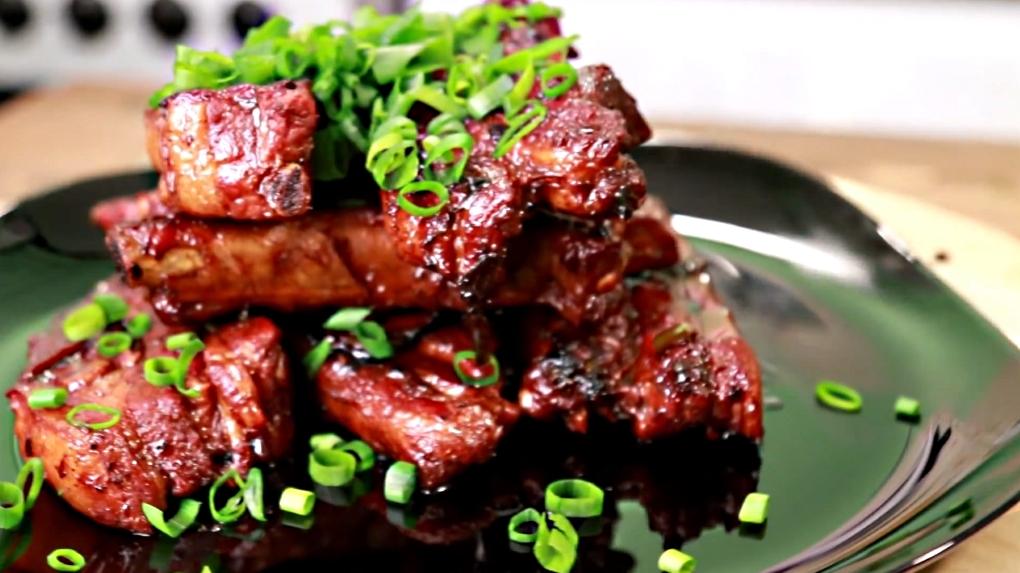 Свиные рёбрышки по-китайски