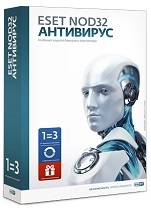 ESET NOD32 Antivirus - 3 PC 2 Year new license REG FREE
