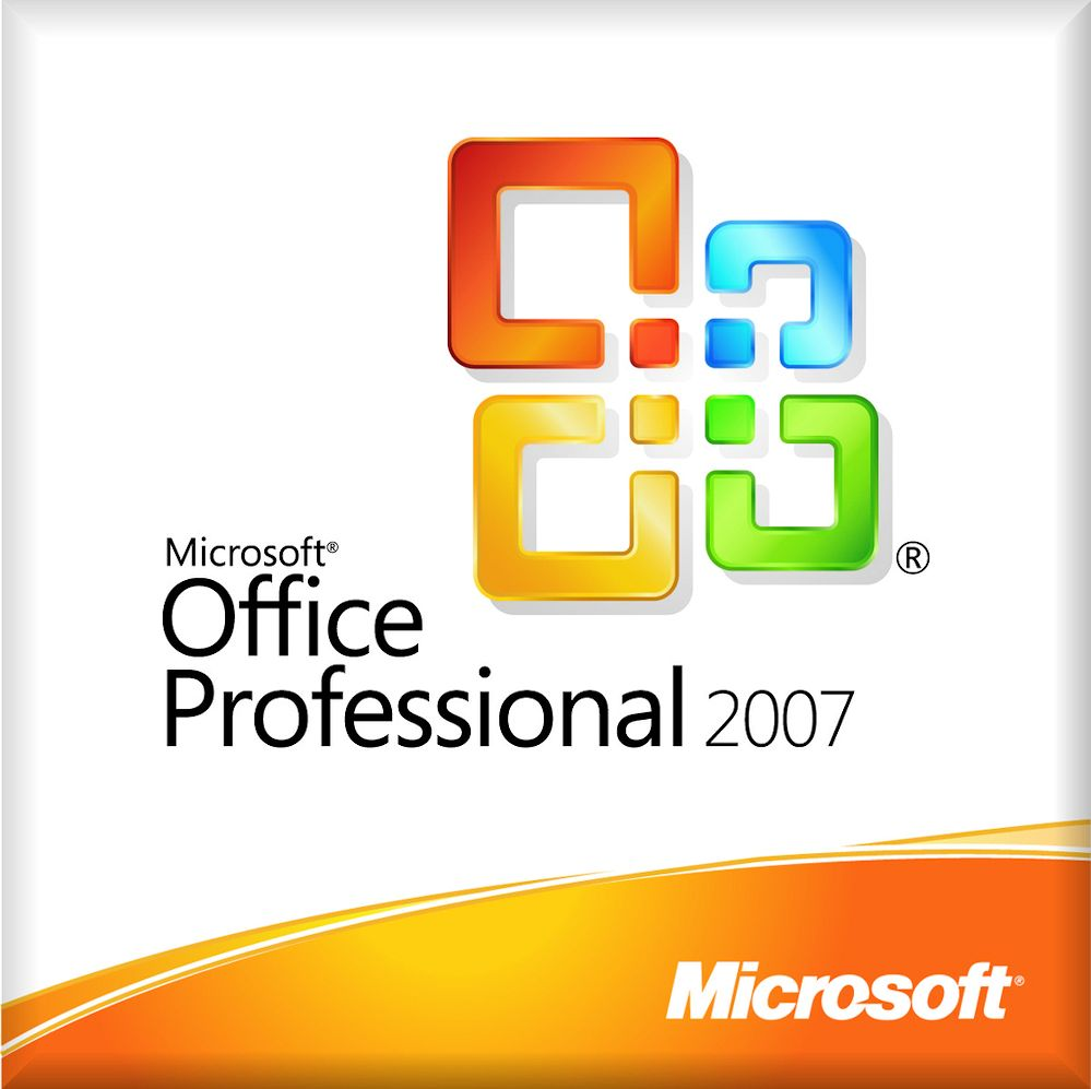 Microsoft Office 2007 Professional 1 PC Region Free