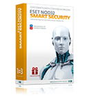 ESET NOD32 Smart Security 3 ПК 1 год NEW LIC REG FREE