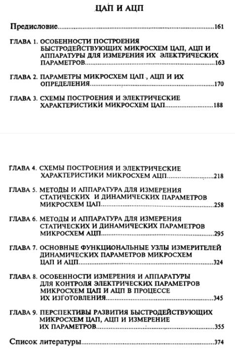 Справочник - полупроводниковые приборы, микросхемы ЦАП