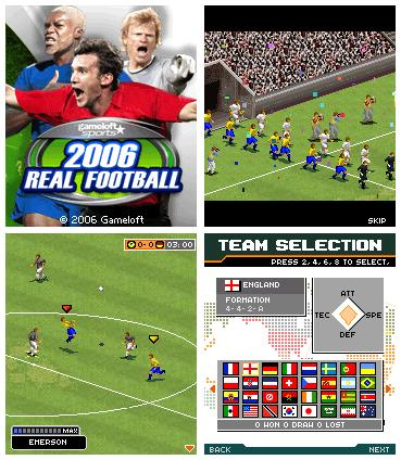 Real Footbal 2006 (176x220 Java-игра) + БОНУС