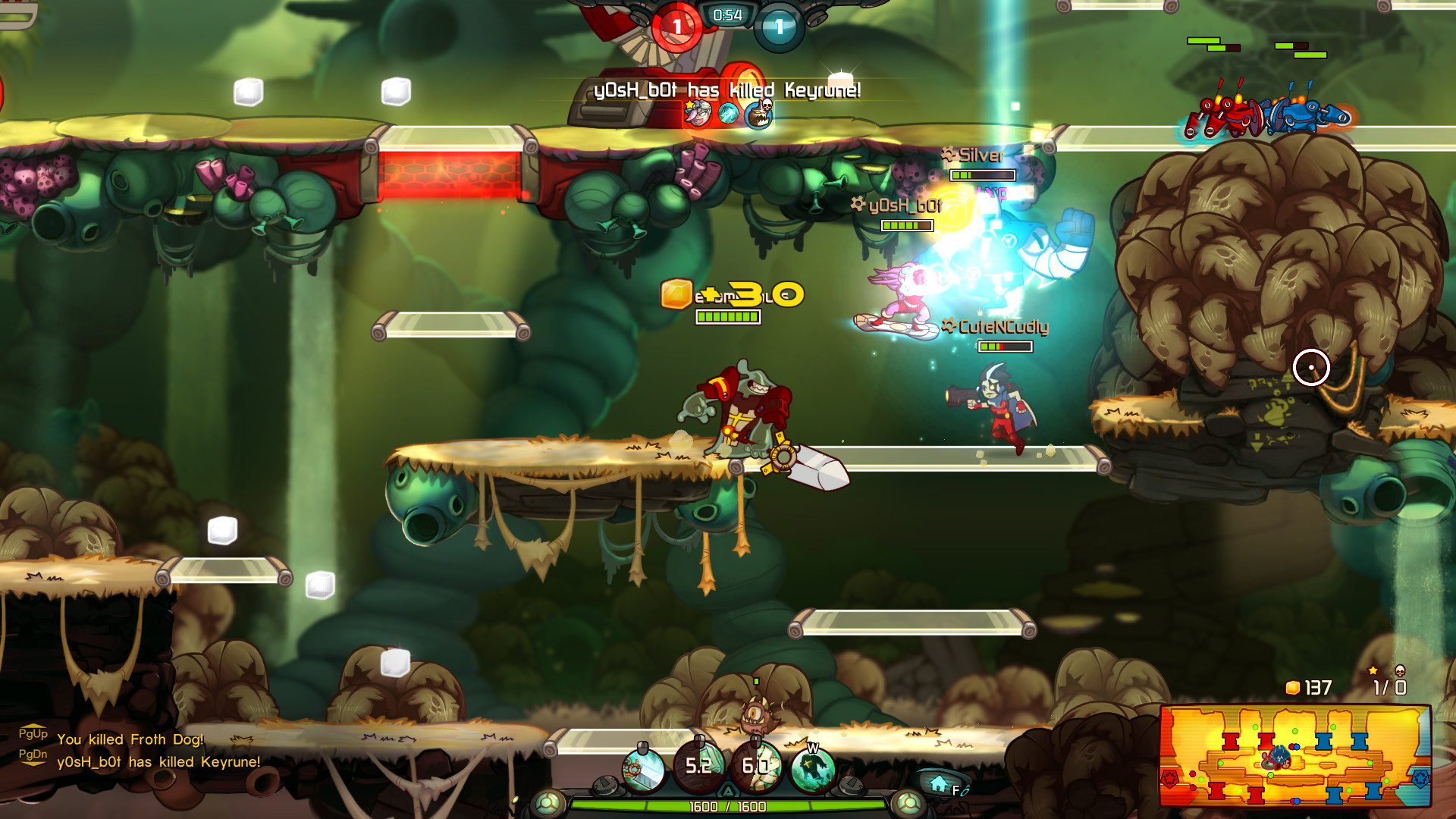 Awesomenauts (Steam Gift/RU+CIS)