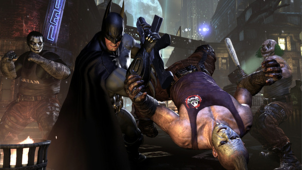 Batman: Arkham City GOTY Edition (Steam ключ/RuCiS)