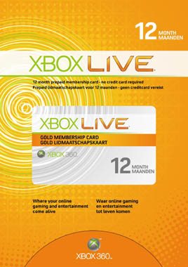 XBOX LIVE - WORLDWIDE - GOLD 12months. DISCOUNT