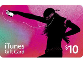 iTunes Gift Card 10 $ USA - (PHOTO, SALES)