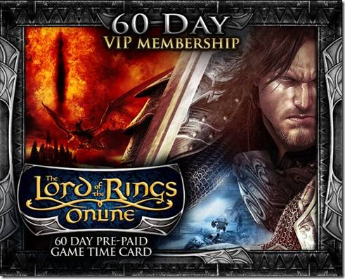 LOTRO - VIP GAMECARD 60 days (EU)