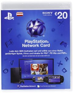 PlayStation Network (PSN) 20€ - AT (SCAN/DISCOUNT)