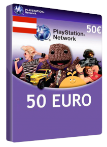 PlayStation Network (PSN) 50€ - AT (SCAN/DISCOUNT)