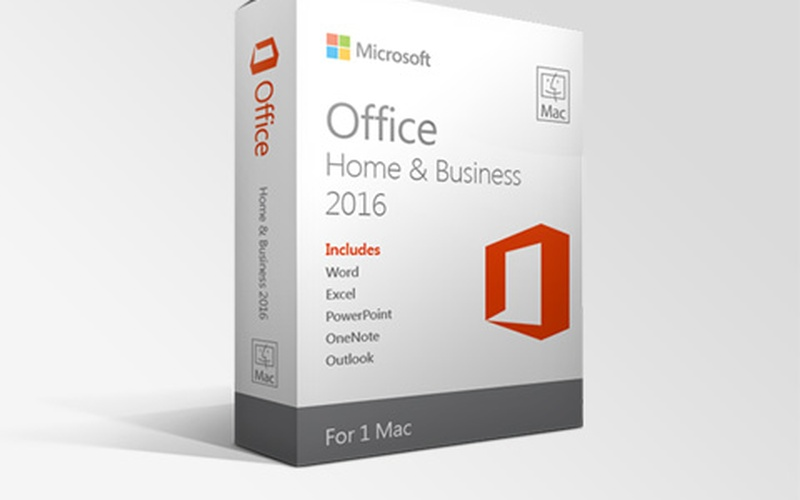 Microsoft Office 2016 Pro for Mac OS Home and Business