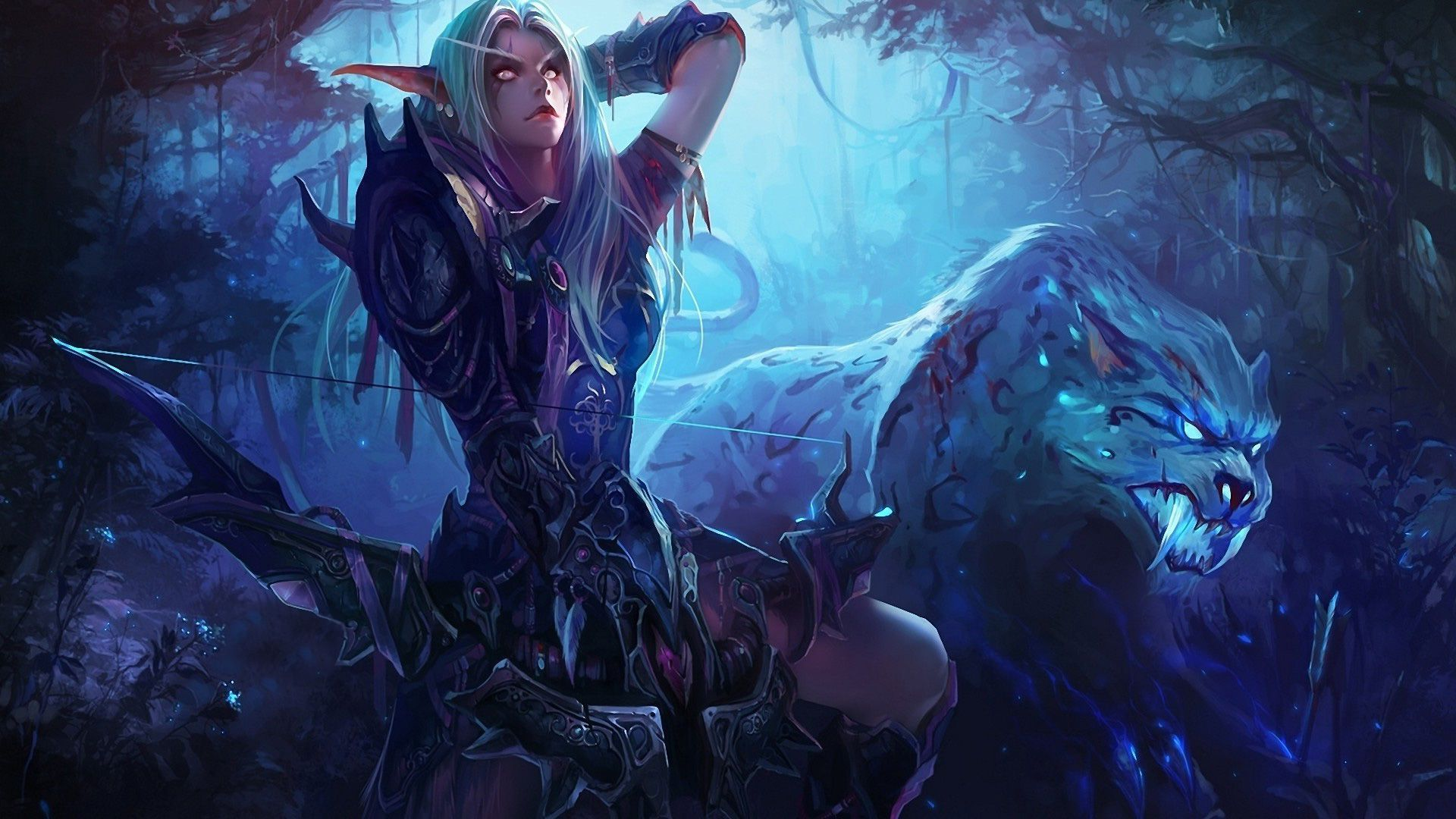 World of warcraft hunter and pet hentia sex download