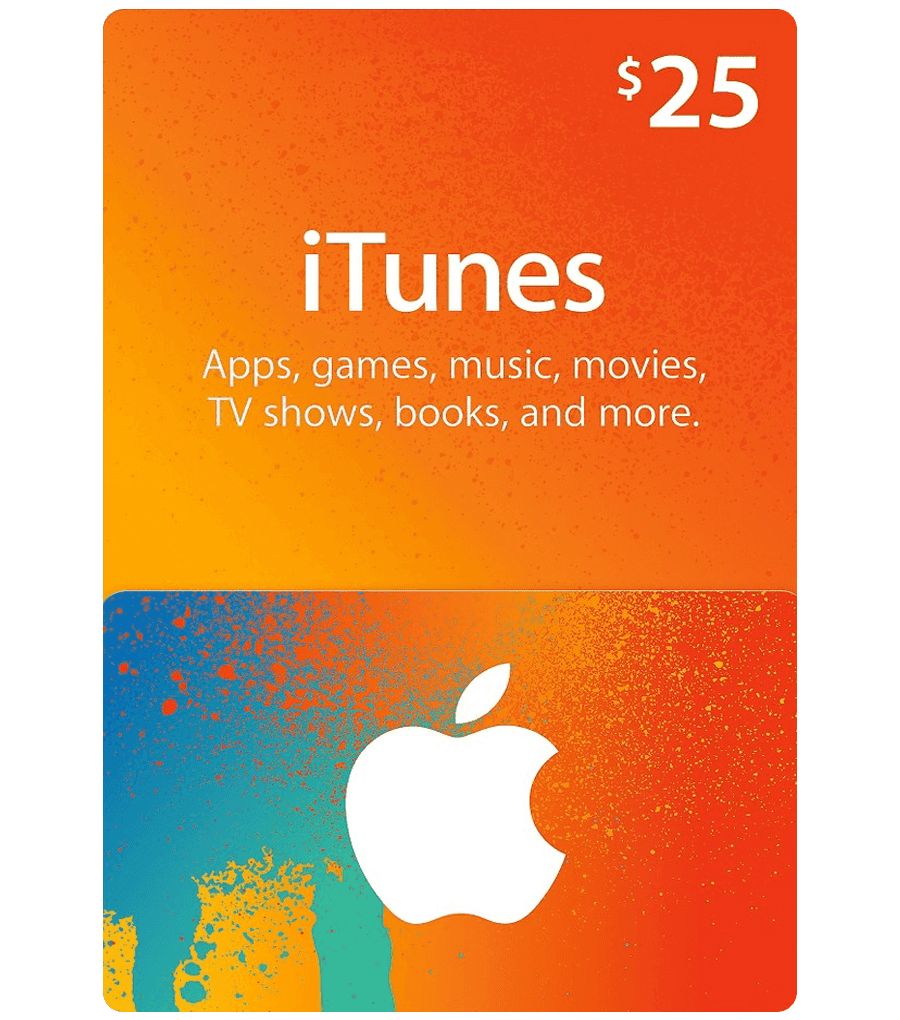 ITUNES GIFT CARD $25 USA + BONUS