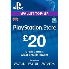 PLAYSTATION NETWORK (PSN) - £20 GBP (UK) | + BONUS