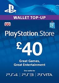 PLAYSTATION NETWORK (PSN) - £40 GBP (UK) | + BONUS