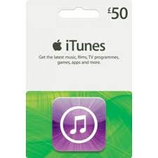 ITUNES GIFT CARD 50 GBP UK + BONUS