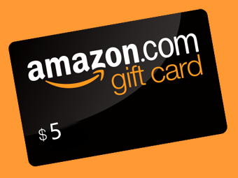 AMAZON 5$ GIFT CARD + BONUS