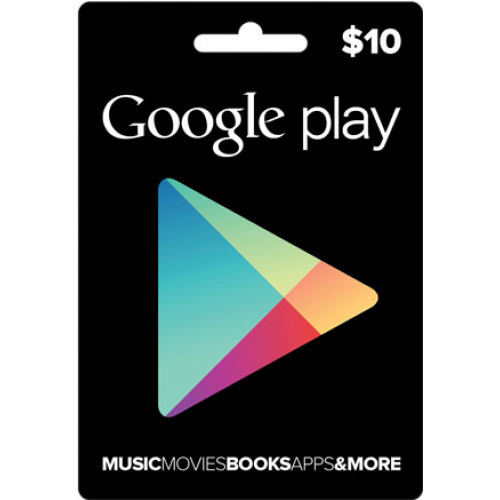 Google Play 10 USD Gift Card US