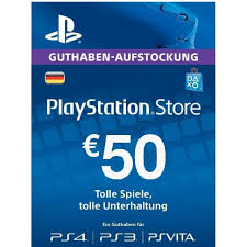 PLAYSTATION NETWORK (PSN) - 50 EUR (DE) + BONUS