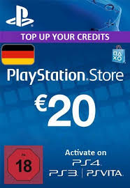 PLAYSTATION NETWORK (PSN) - 20 EUR (DE) + BONUS